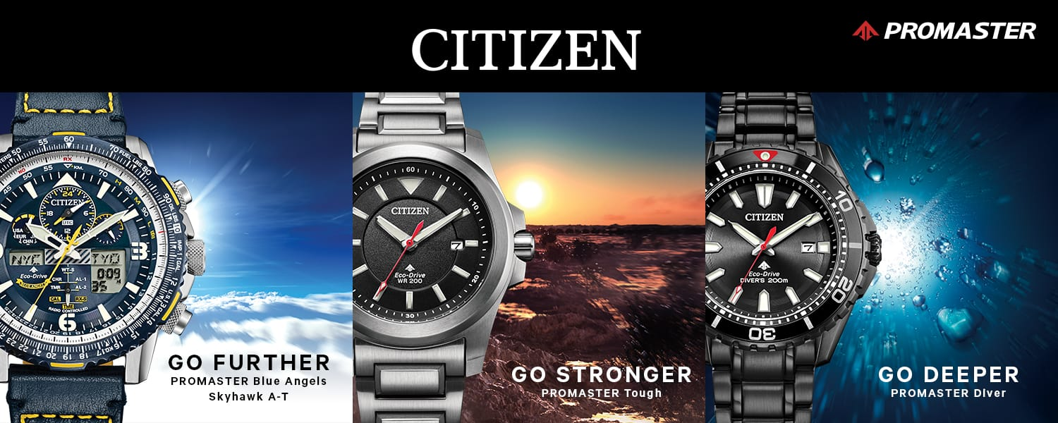 Sickinger's Jewelry Citizen Watches